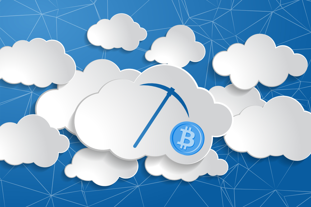 Cryptocurrency cloud mining marketplace