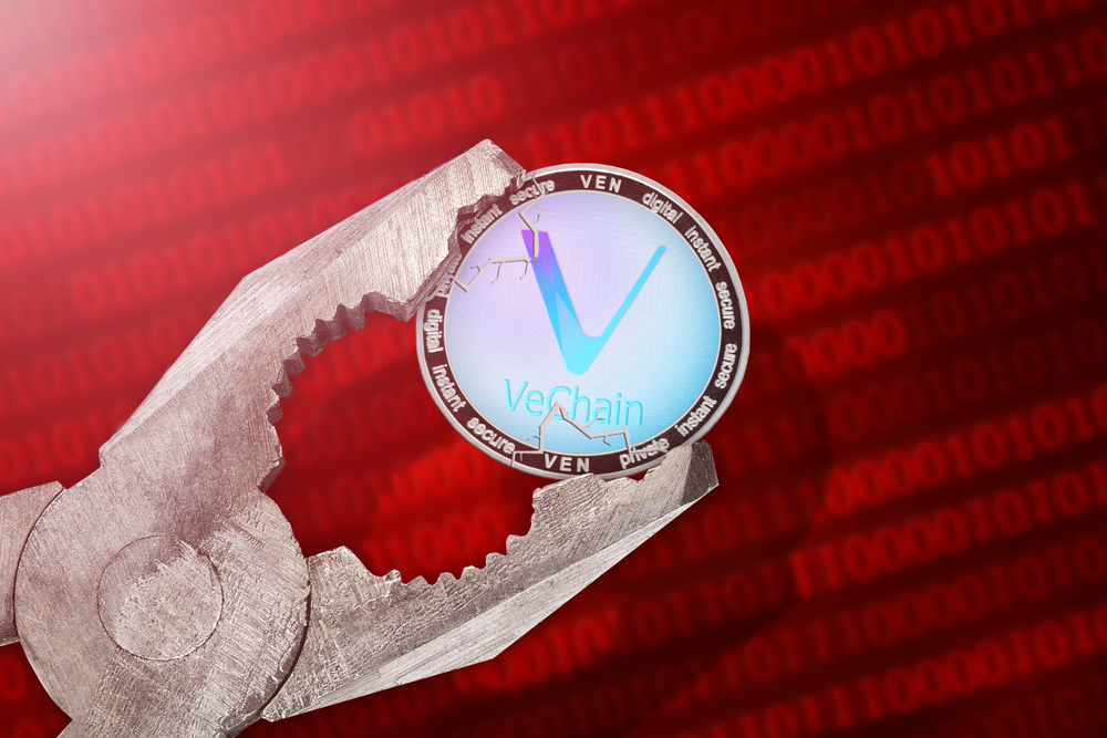 NullTX VeChain price Rising