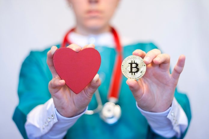 blockchain health industry