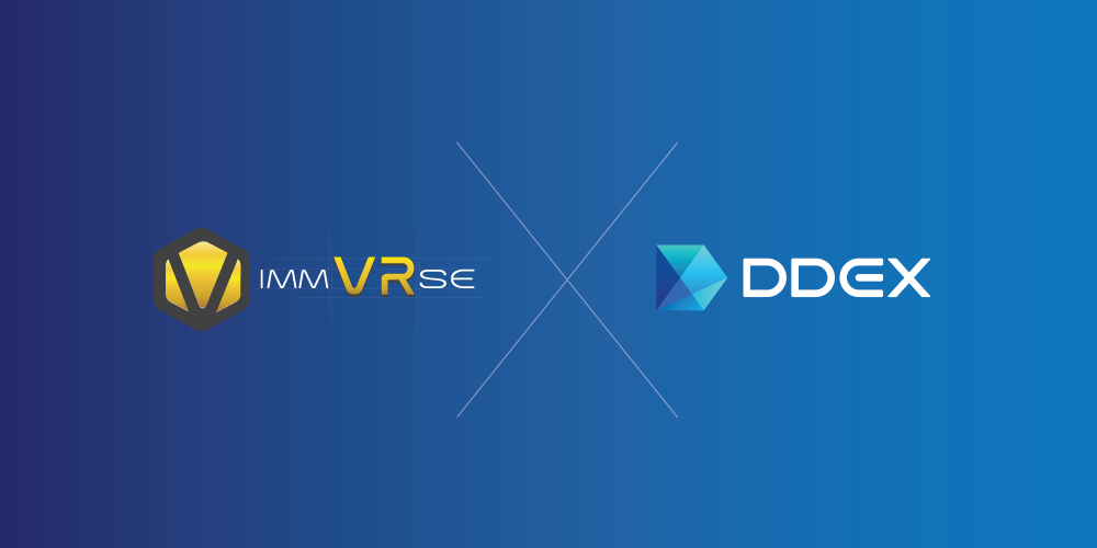 VR Marketplace ImmVRse's IMVR Now Trading on Advanced DDEX Exchange