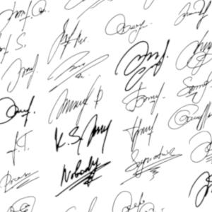 signature campaigns