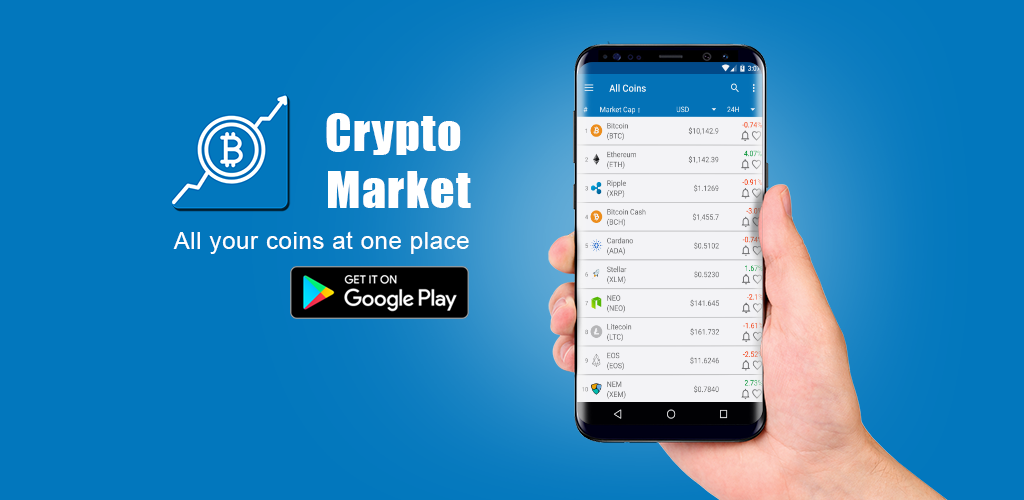 crypto currency charts android app