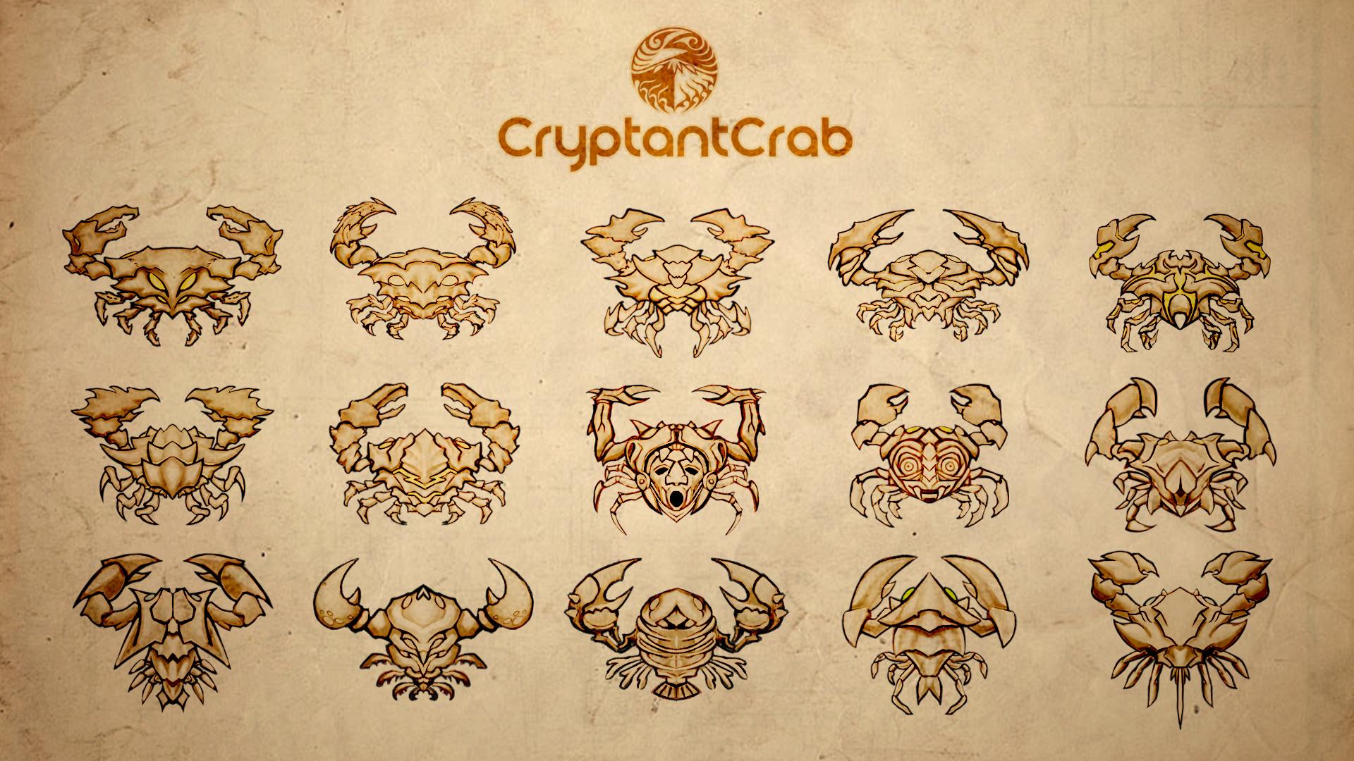 Cryptant Crab