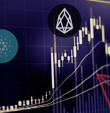 ada eos trx price analysis