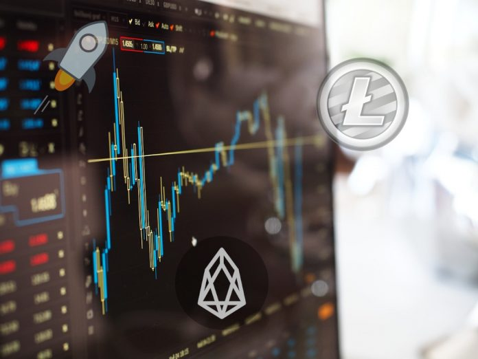 stellar eos and litecoin price chart 8/26/19