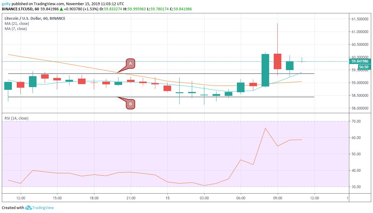 litecoin price chart 11/15